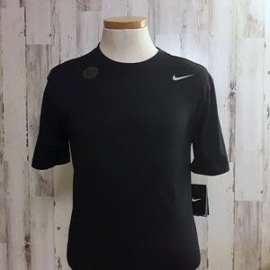 The NIKE Tee Authentic Cut Dri-Fit Navy T-…